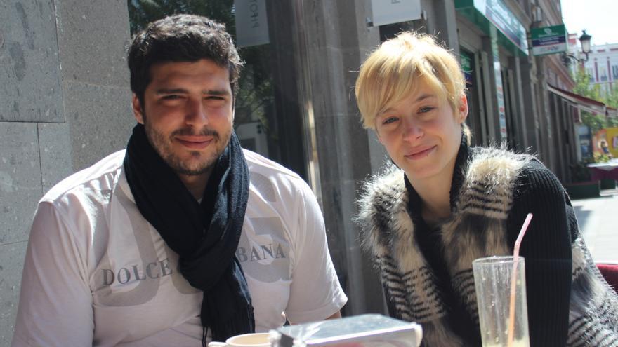 Gino Rodríguez, director y Elena Vázquez, programadora del Festival Internacional de Terror NowOrNever
