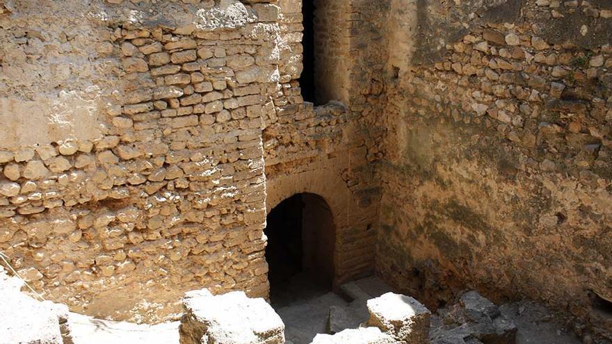 La Torre del Mig, en el castell de Dénia.