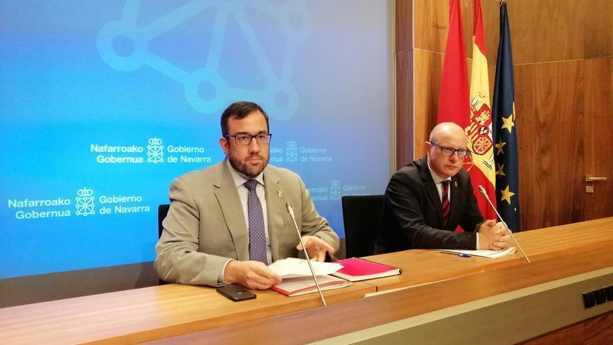 Remírez dice que el coste del aumento retributivo del 2% para los empleados públicos de Navarra es de 27 millones