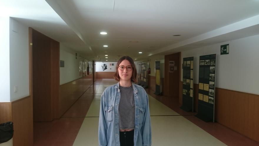 Paula Medina. Estudiante de tesis. Beca FPU.