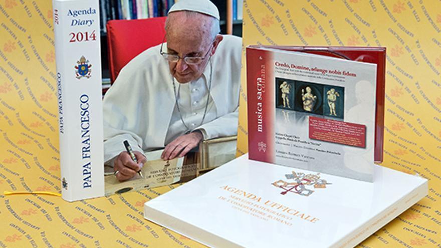 Agenda oficial del Papa Francisco. Foto: Observatorio Romano.