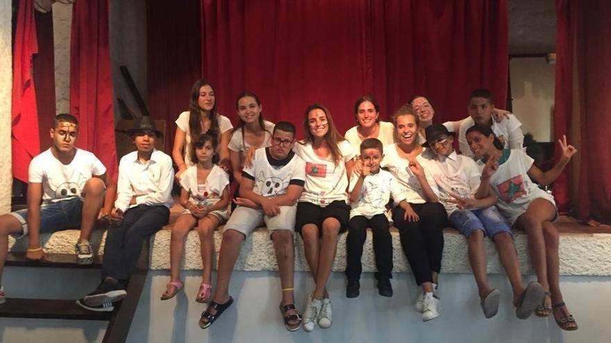 Alumnas de la UN y la UPNA colaboran en la atención de niños con discapacidades en un centro de acogida de Marruecos