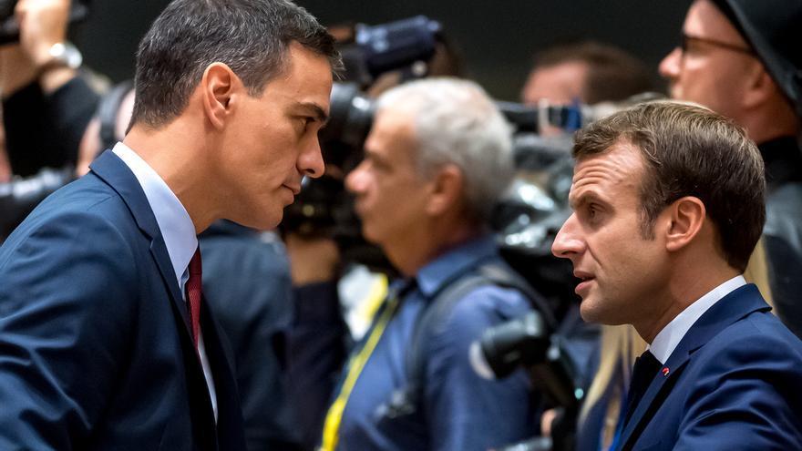 Sánchez aborda en desayuno con Von der Leyen, Macron, Merkel y otros el relevo de comisarios vetados