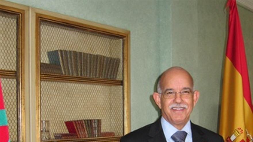 El Presidente De La Cámara De Consejeros Marroquí