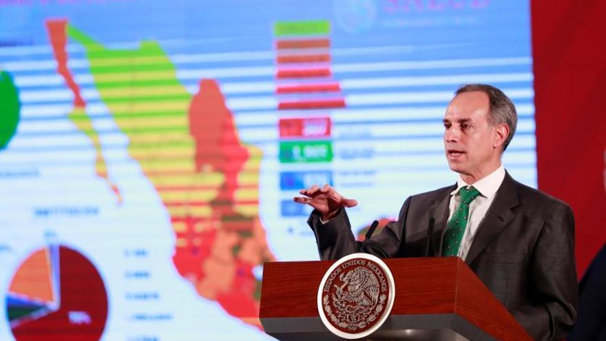 México reporta sexta muerte por COVID-19 y eleva de 405 a 475 los contagios