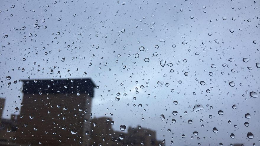 Lluvia en Albacete