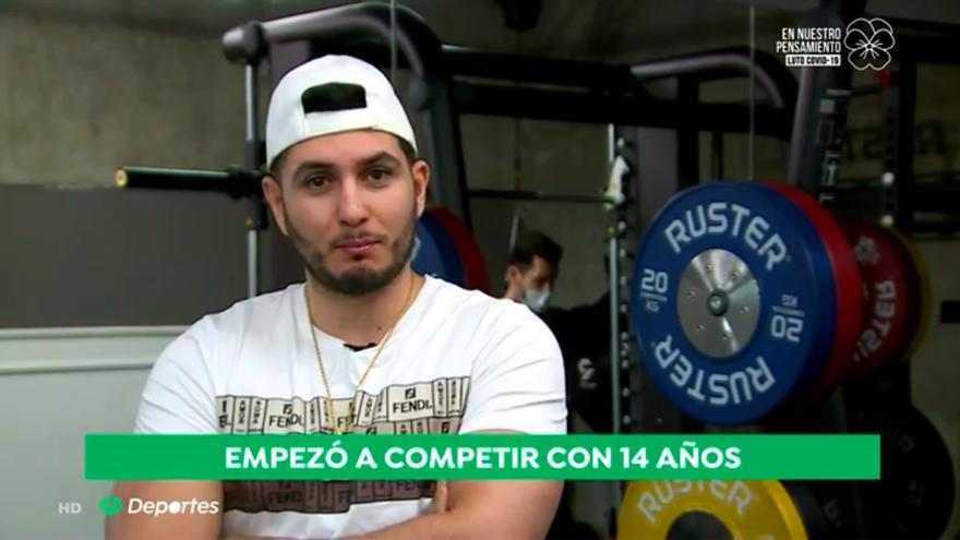 Omar Montes, en los deportes de Antena 3