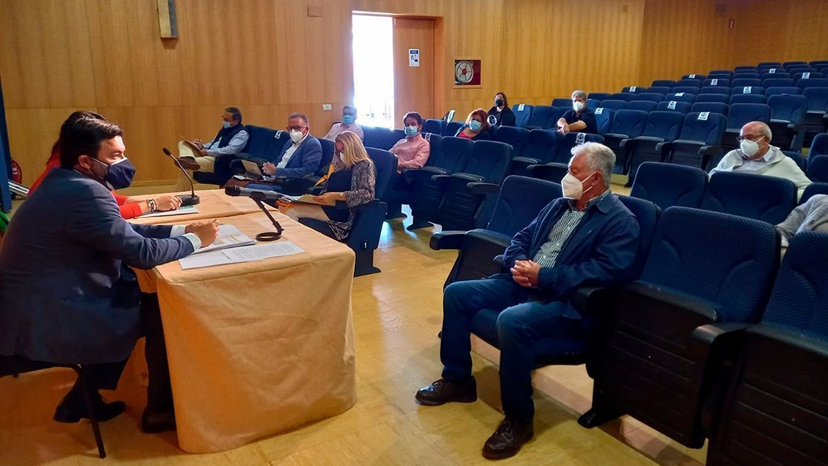 Reunión entre la Junta y los municipios de Los Pedroches.
