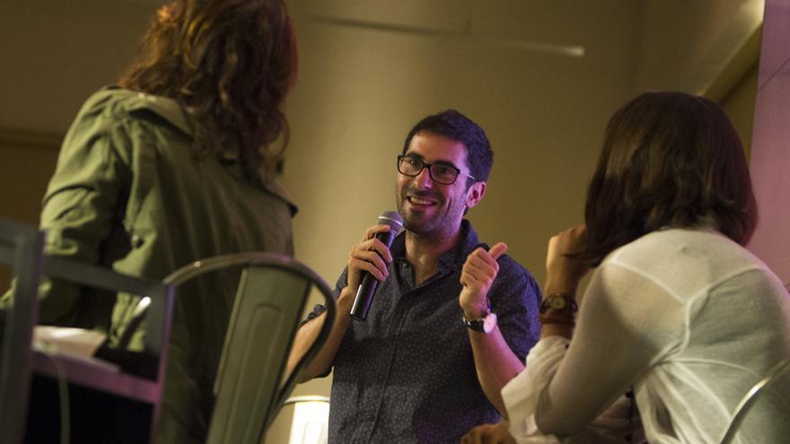 El periodista Agus Morales, autor de 'No somos refugiados'.