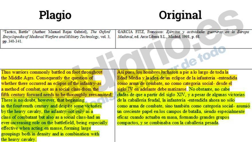 Comparación entre los textos de Manuel Rojas y Francisco García Fitz.