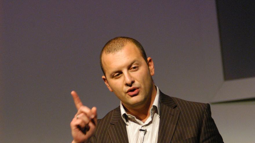 Richard Gerver, durante una conferencia.
