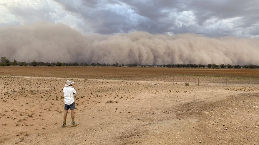 Tormenta de arena en Australia
