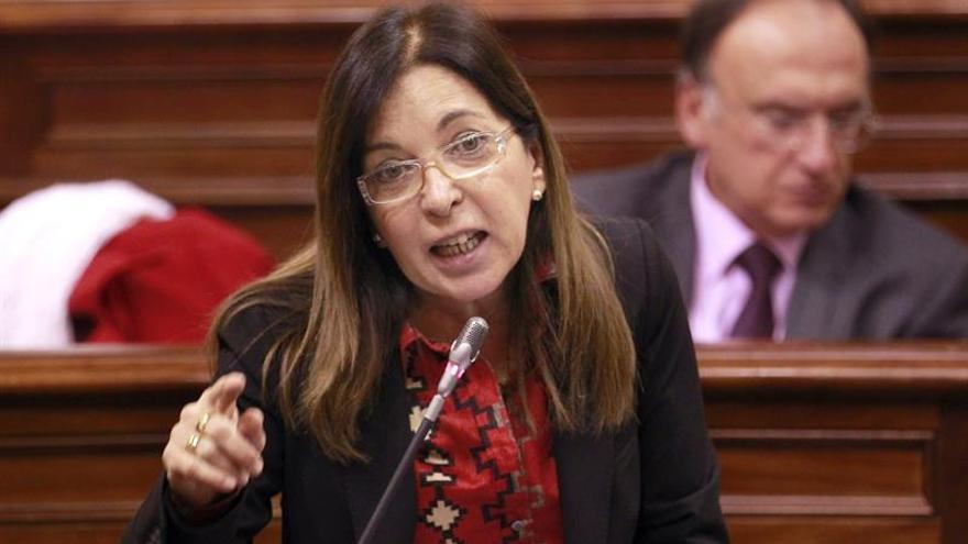 Brígida Mendoza, consejera de Sanidad del Gobierno de Canarias. (EFE)