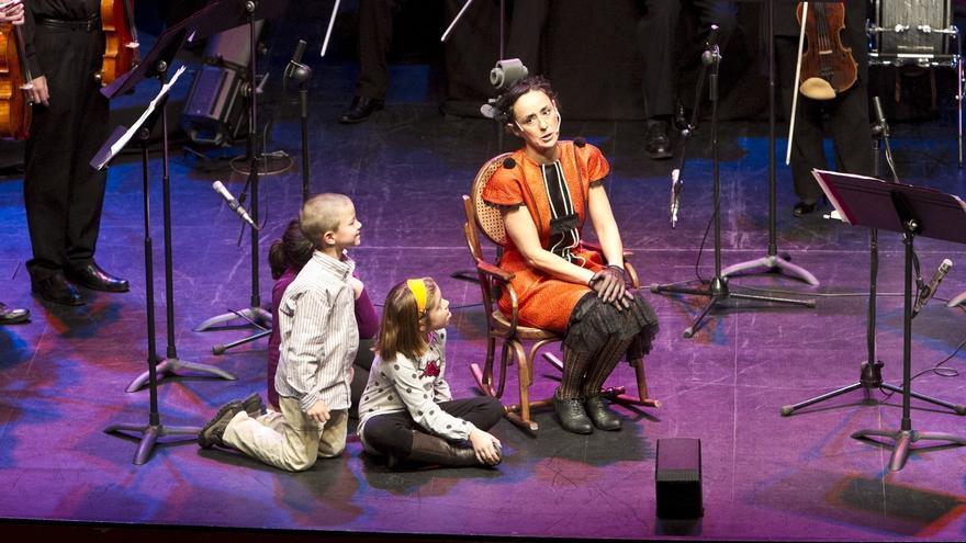 La Orquesta Sinfónica de Euskadi trae este sábado al Teatro Gayarre el musical 'La viola no está sola'