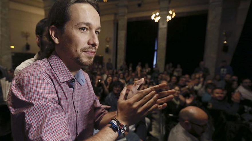 Pablo Iglesias opta a la dirección de Podemos con una lista completa