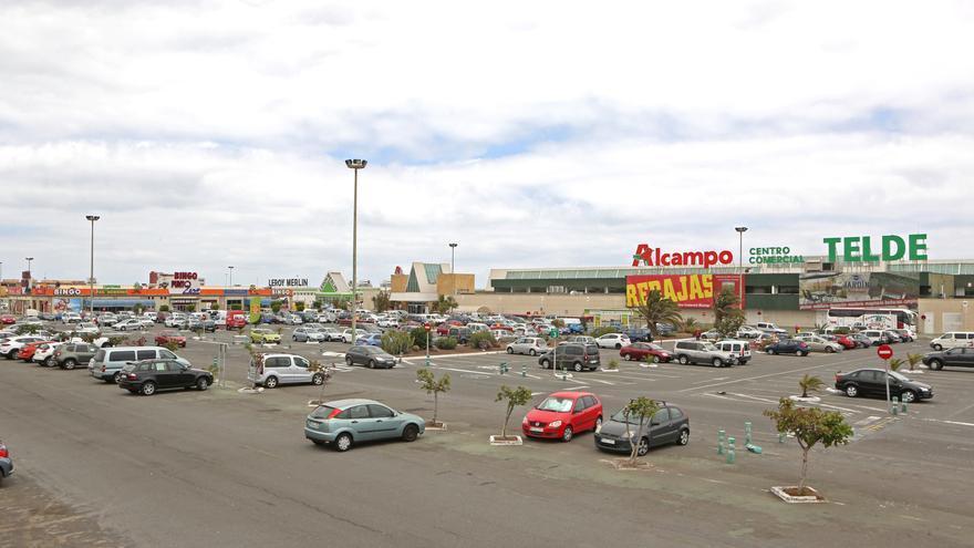 Zona comercial donde trabajaba la afectada.