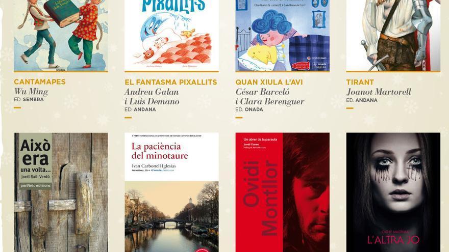 Varios de los libros que han editado las editoriales que participan en esta campaña