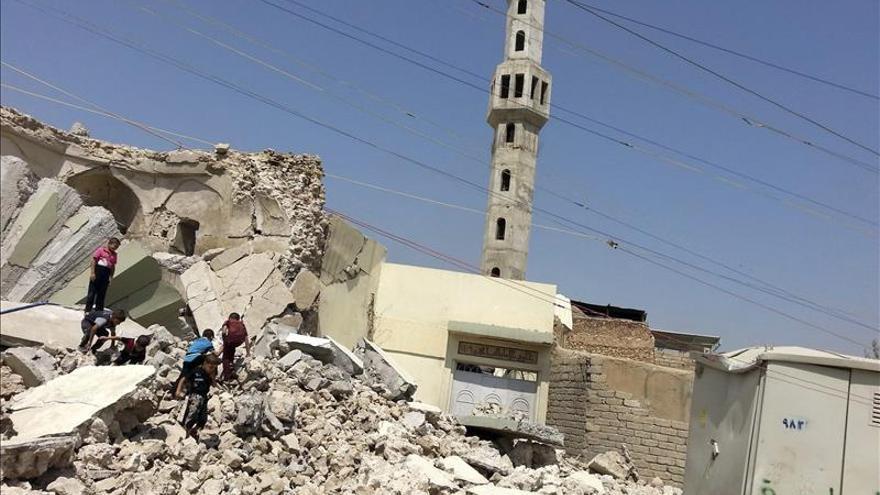 Mueren siete yihadistas en nuevos bombardeos de la coalición en Mosul