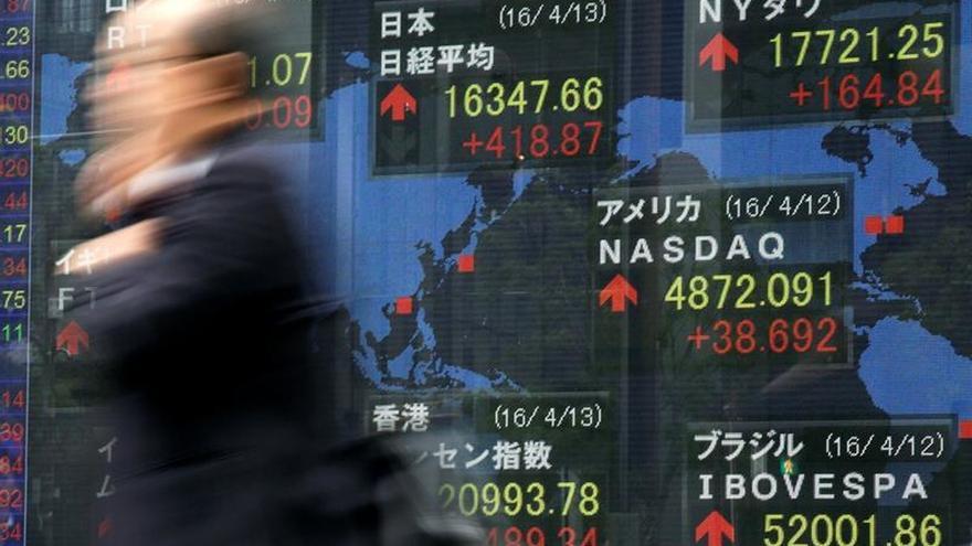 Tokio abre con una caída del 1,10 por ciento hasta los 16.500,55 puntos