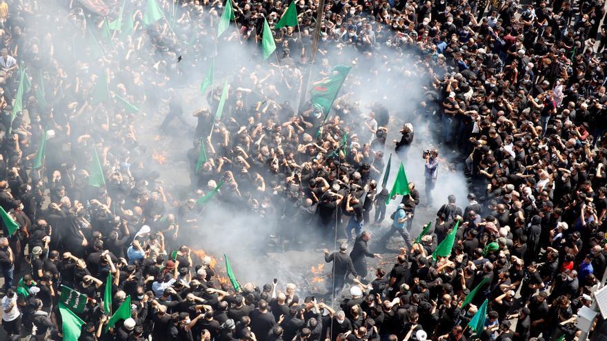 Un Irán en duelo celebra la Ashura pese a la grave quinta ola de la pandemia