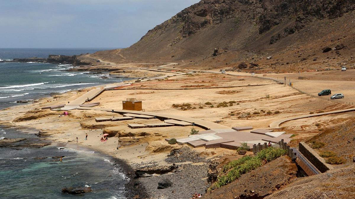Playa de El Confital. (Alejandro Ramos).