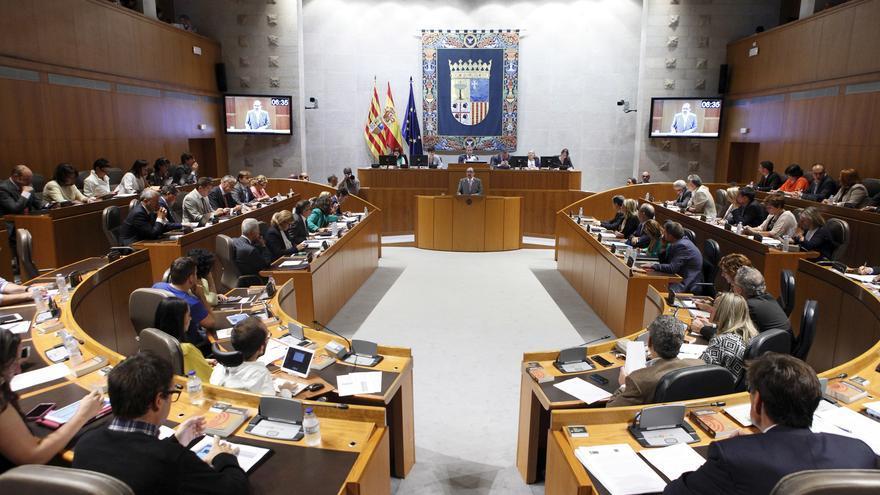 La propuesta de Podemos se aprobó en las Cortes de Aragón.