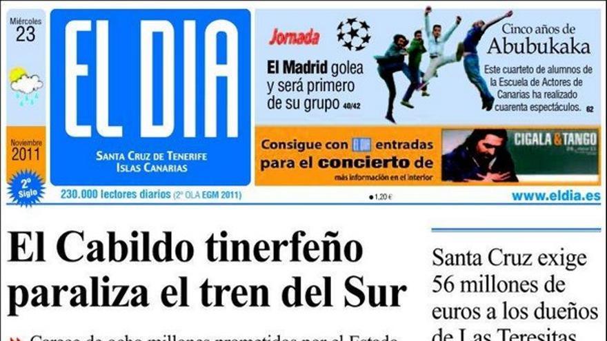 De las portadas del día (23/11/2011) #4