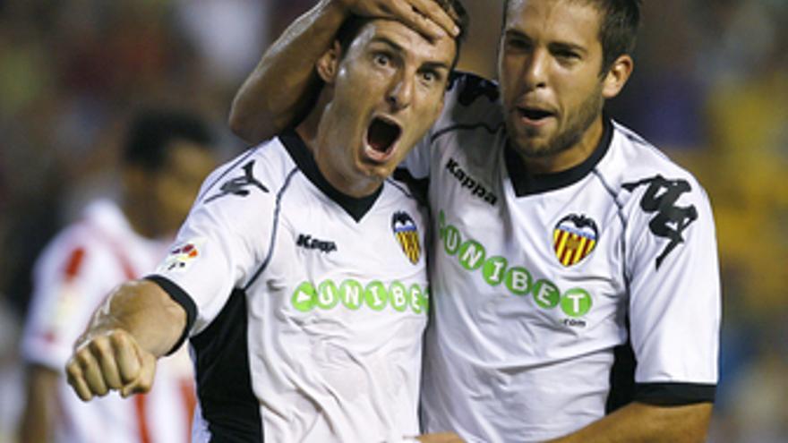 Aduriz marcó el primero del Valencia