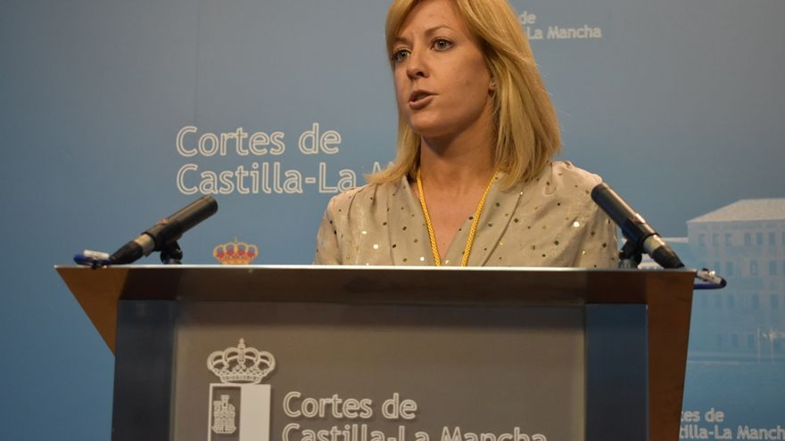 Ana Isabel Abengózar, portavoz del PSOE