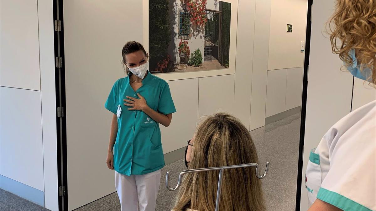 Una atención en Urgencias en el Hospital Quirónsalud.
