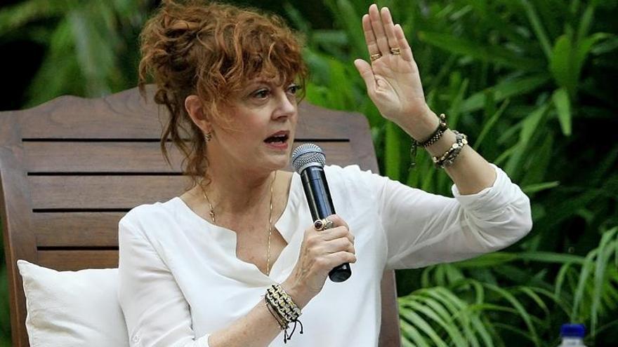La actriz Susan Sarandon ofrece una clase magistral de actuación en Cartagena