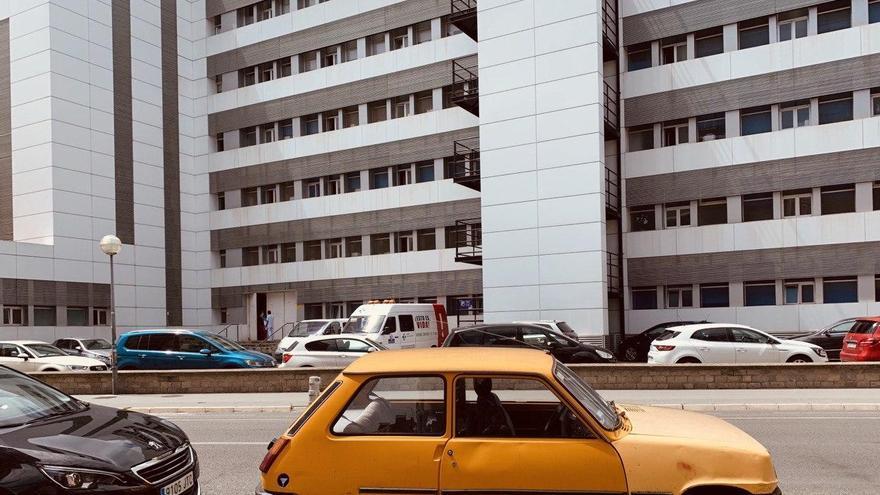El hospital de Santiago de Vitoria, este lunes