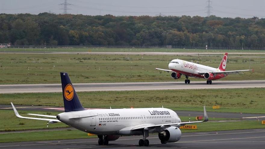 Lufthansa va a adquirir la mayor parte de Air Berlin por 1.500 millones de euros
