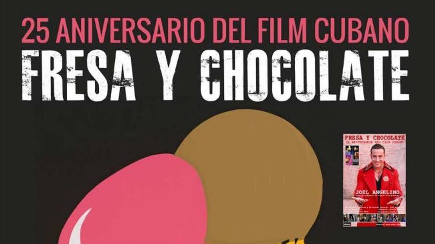 Cartel de 'Fresa y chocolate'.