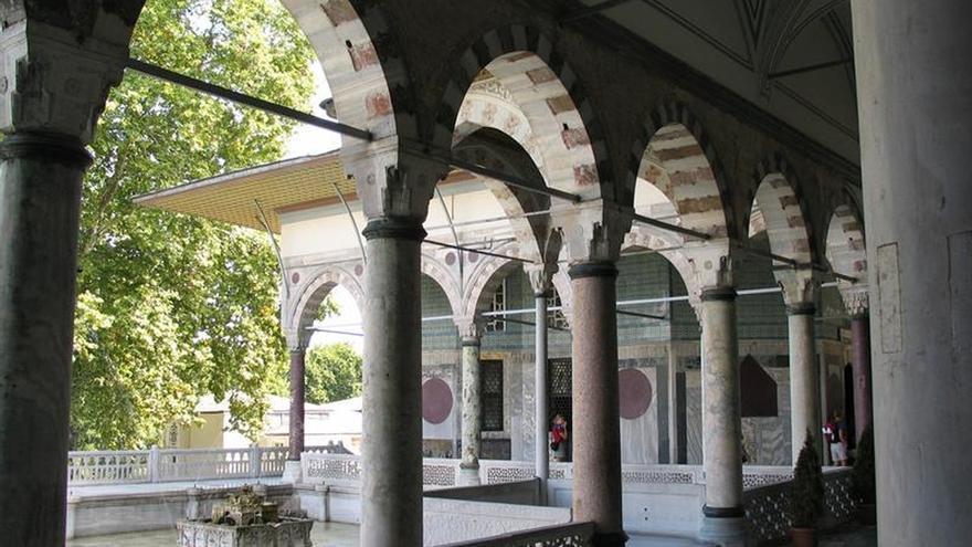 Riesgo de derrumbe en el palacio otomano de Topkapi, en Estambul