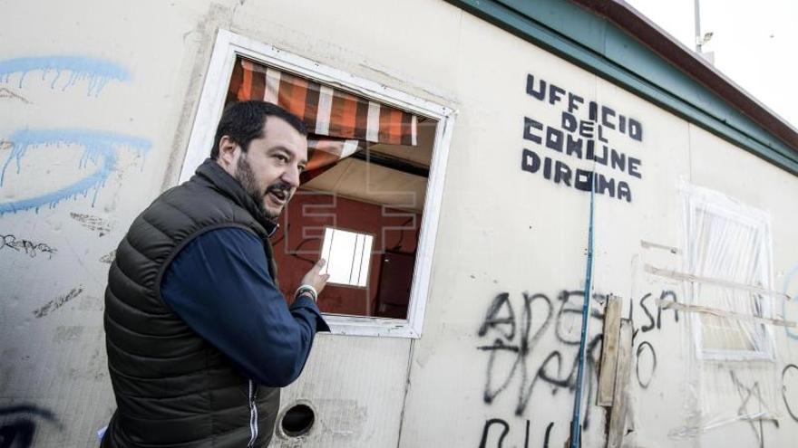 """El líder de la Liga Norte dice que el fascismo hizo """"muchas cosas"""" por Italia"""
