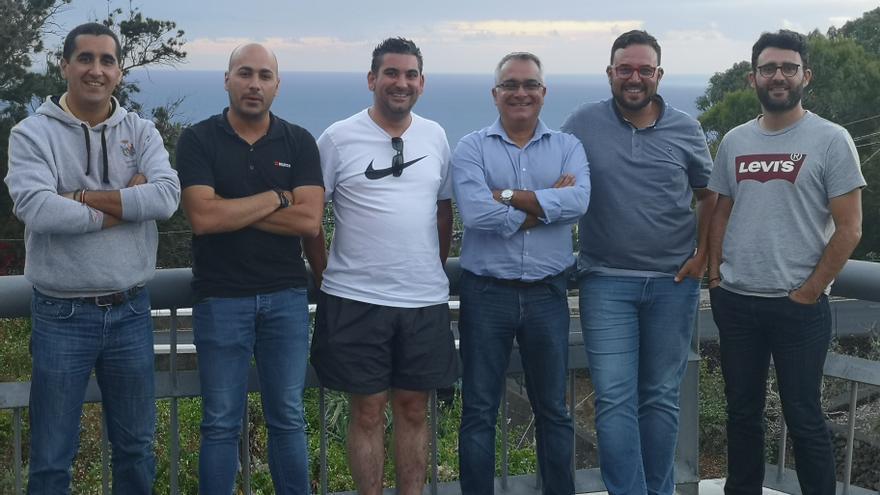 Nuevos miembros de Escudería La Palma.