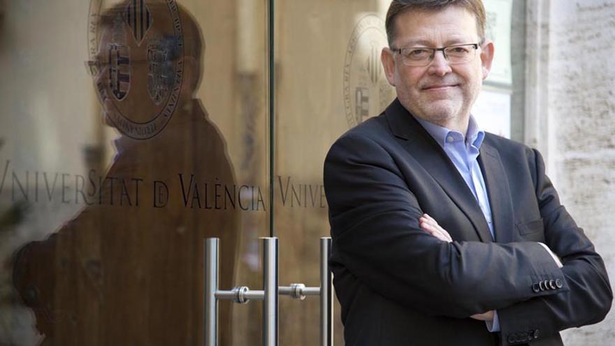 El secretario general de los socialistas valencianos y candidato a las primarias del PSPV, Ximo Puig