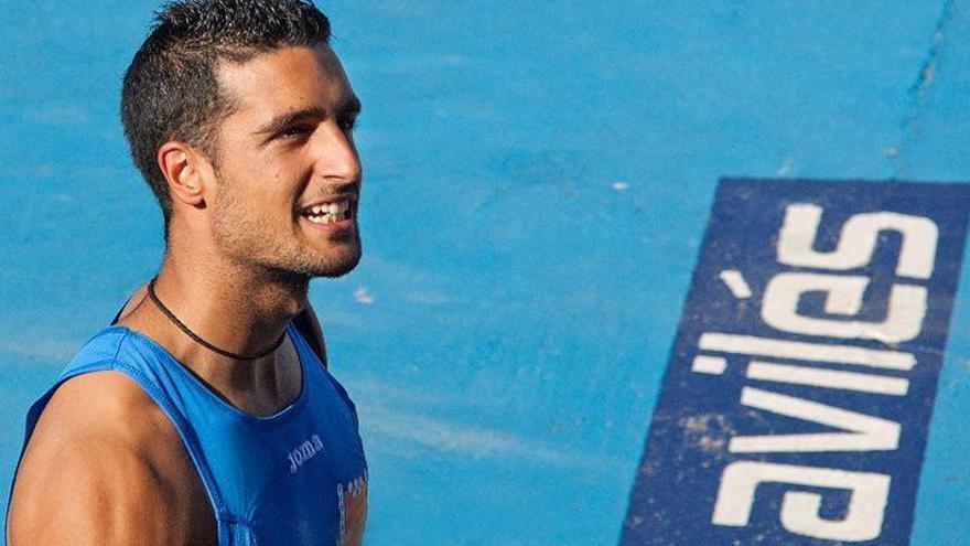 En la imagen, el deportista Jesús Crossa Lorenzo en una competición.
