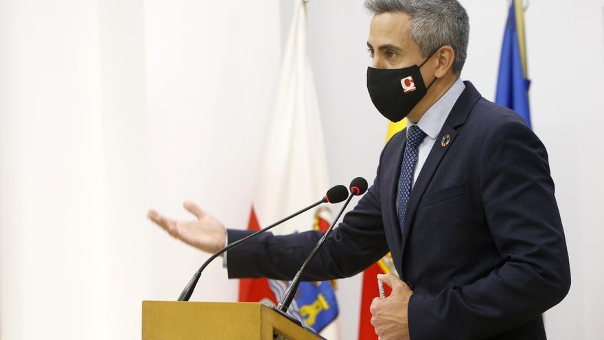 El vicepresidente regional, Pablo Zuloaga