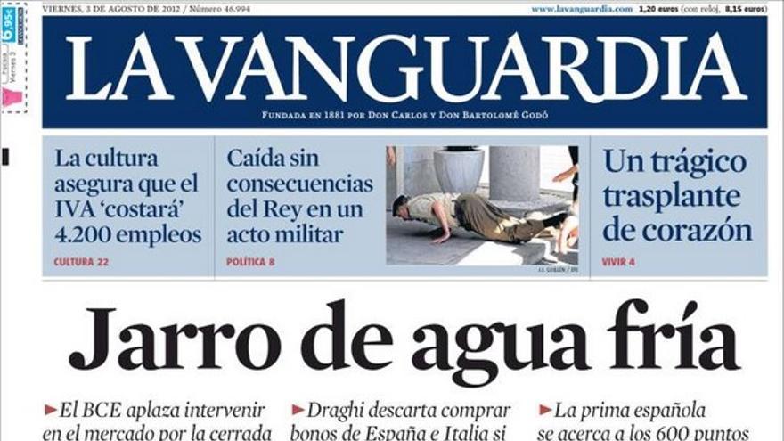 De las portadas del día (03/08/2012) #11