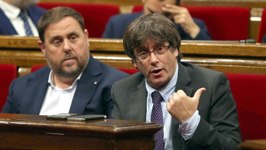 Puigdemont: España no es un régimen democrático y contestaremos con las calles llenas