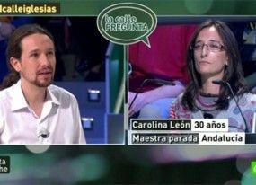 El pueblo preguntó a Pablo Iglesias por Albert Rivera, 'Tronos', la coleta...
