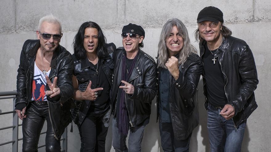 La banda alemana Scorpions visitará Torrelavega este miércoles.
