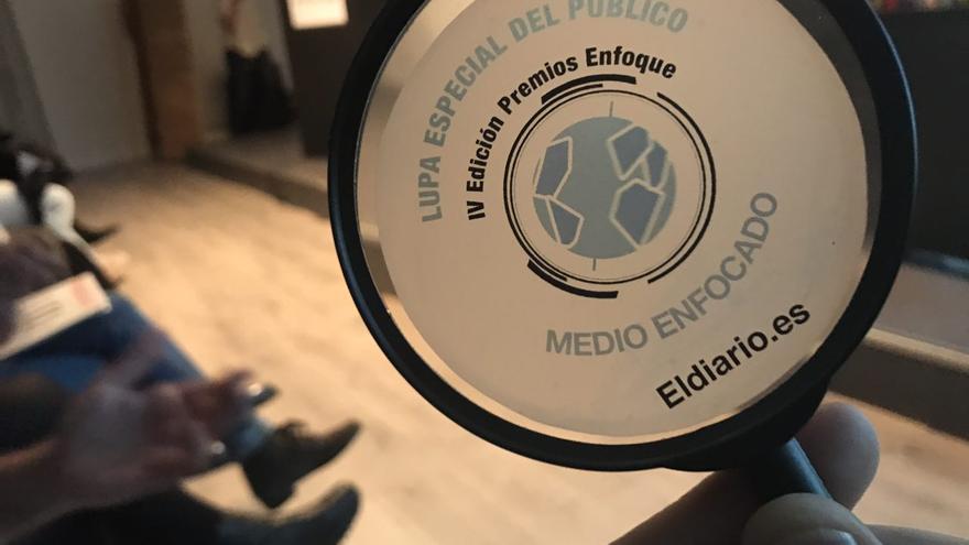 """La """"Lupa especial del Público"""" de los Premios Enfoque."""