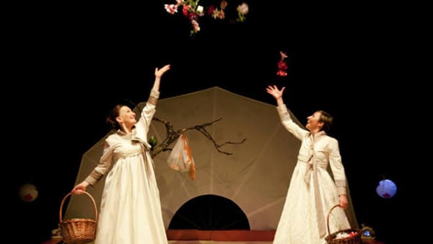 Representación en el Teatro Arbolé de Zaragoza.