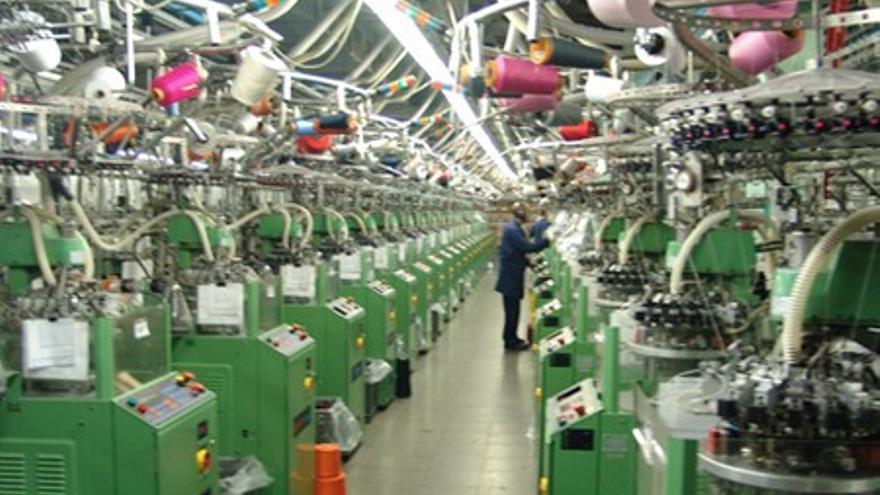 Interior de las fábricas de la firma Marie Claire