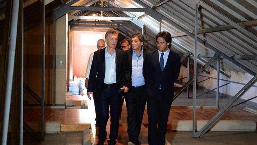 Macri visita un antiguo centro de detención de la dictadura