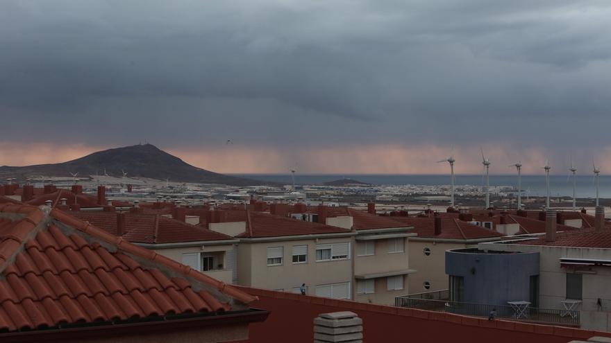 Lluvia en Gran Canaria