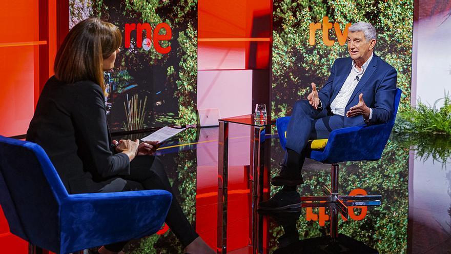 Mónica López entrevista a José Manuel Pérez Tornero en 'La hora de La 1'